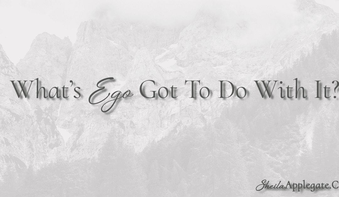 What's Ego Got To Do With It?