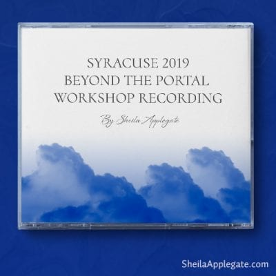 Syracuse 2019 Beyond the Portal Workshop Recording Sheilaapplegate.com